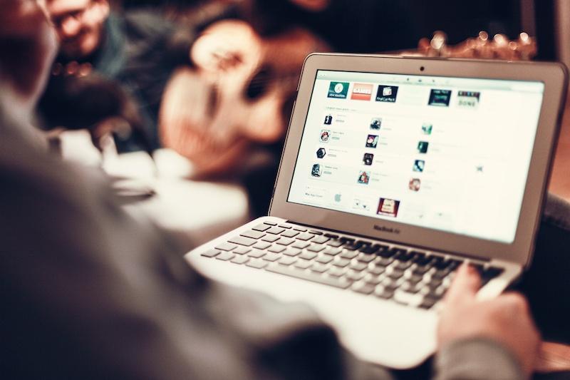SSO on a laptop