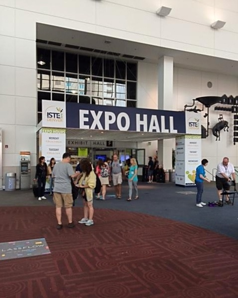 Entering the ISTE 2016 Expo Hall