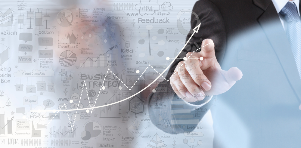 businessman hand working with new modern computer and business strategy as concept-1