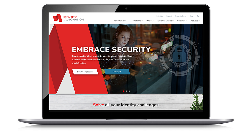 introducing the new Identity Automation website